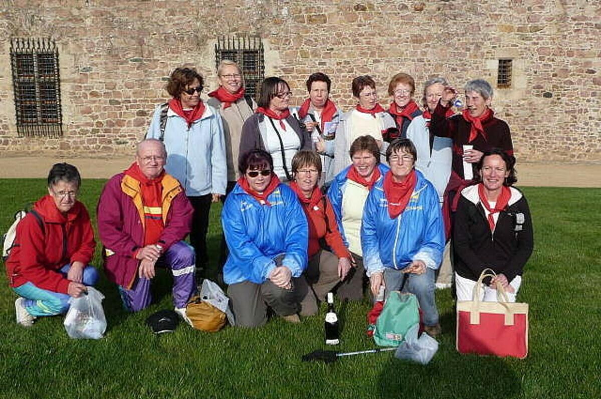 Participation du club à la Rando Challenge à la Roche Jagu